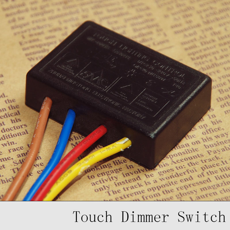 цена на 220V lamp Touch Switch Touch on/off Sensor Switch Table Lamp Lightning Protection and Interference Dimmer Switch 1PC