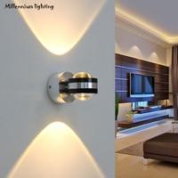 أدى الجدار الديكور جدار صغير ضوء مصباح السرير غرفة نوم غرفة المعيشة خلفية جدارية الحديثة فكرة بسيطة