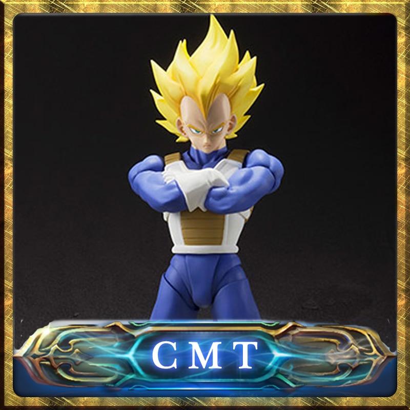 CMT INSTOCK Dragon Ball Z Action Figure BANDAI S.H.Figuarts Super Vegeta V2.0 sunflower instock 100