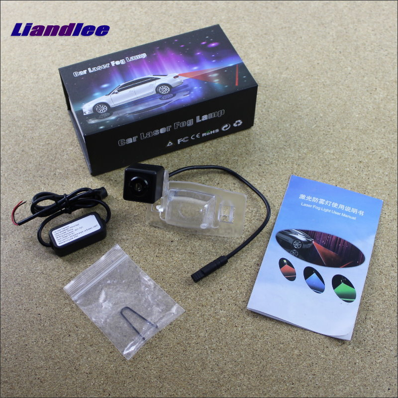 Liandlee Car Tracing Cauda Laser Light For Ford Escape / Maverick / Mariner 2001-2006 Special Anti Fog Lamps Rear Lights car tracing cauda laser light for volkswagen vw jetta mk6 bora 2010 2014 special anti fog lamps rear anti collision lights