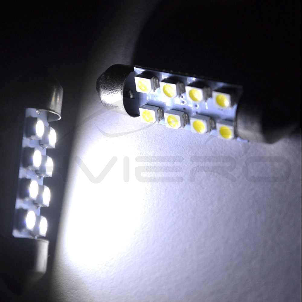 31mm 36mm 39mm 41mm לבן 3528 1210 אוטומטי אור C10W C5W 8LED לויה כיפת קריאת דלת מנורת קישוט זנב הנורה DC 12V אוטומטי Led