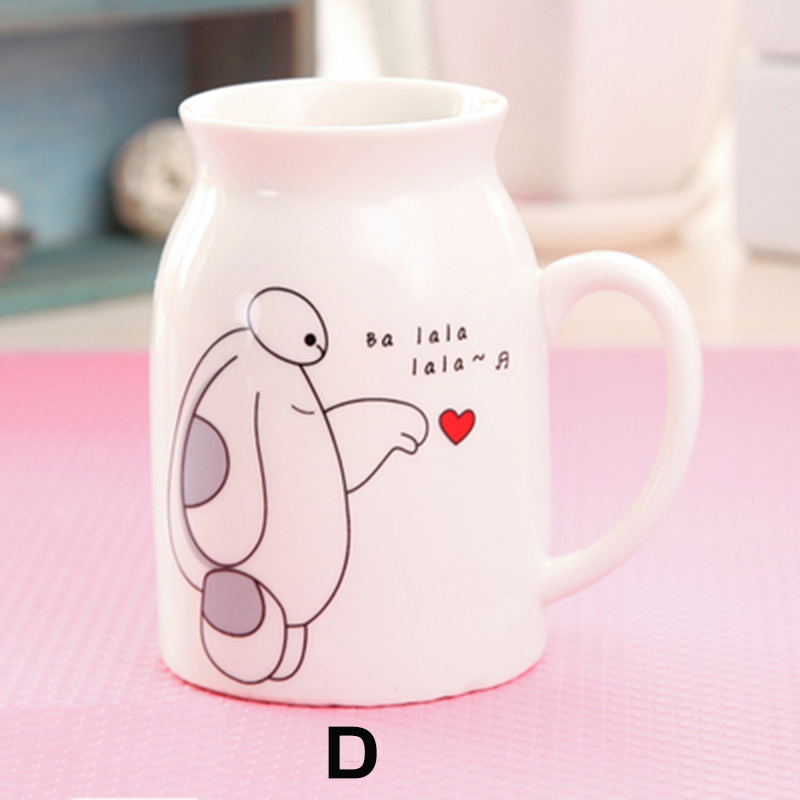 Hot Sale Baymax Creative Couple Travel Coffee Mug Ceramic Tea Beer ...