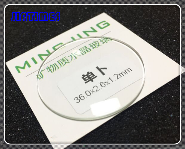 Free Shipping 1.2mm Thick Jap Convex Round Mineral Watch Crystal for Watch Replacement from Size 30mm to 40mm free shipping 1pc japan 1 2mm convex watch mineral glass for watch repair from 30mm to 40mm