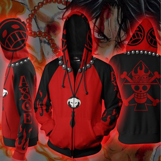 Stylish One Piece Anime Hoodies
