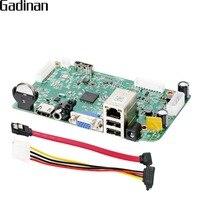GADINAN HI3536D H 265 8CH 4MP 4CH 5MP CCTV NVR Board Security Network Video Recorder H
