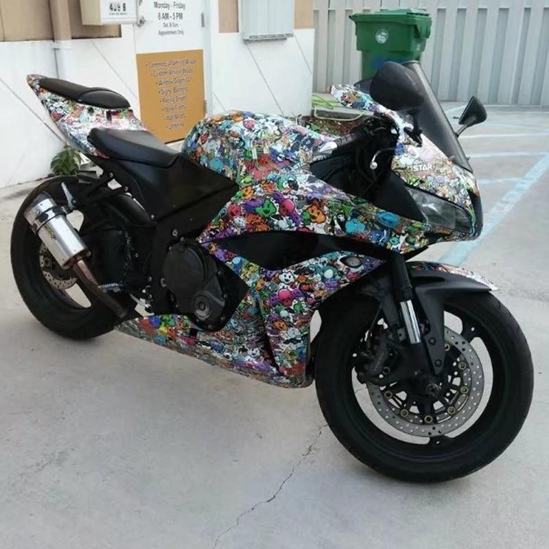 JDM StickerBomb Vinyl Sticker Car DIY Graffiti Sticker Bomb Wrap Car Stickers Motorcycle Accessories Car Decals Car Styling