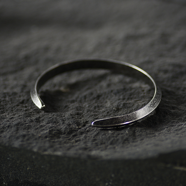 Bracelet rétro Viking acier inoxydable  4