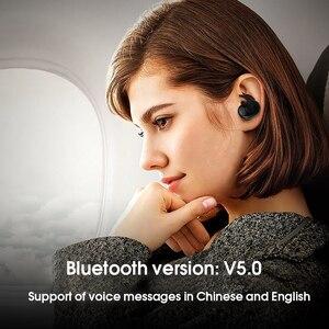 Image 5 - Kebidu nova chegada tws bluetooth v5.0 fone de ouvido 3d estéreo esportes sem fio fones com microfone duplo para iphone xiaomi