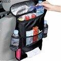 Организатор путешествий Пищевой Изоляции Пакет Большой Емкости Сумка-Холодильник Авто Multi-карманный Обед Мешок Хранения Ткани Висит Сумка