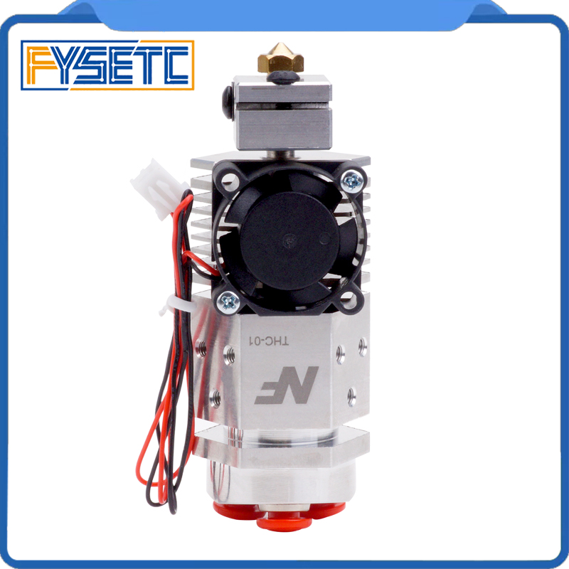 3D Printer Parts NF THC 01 Hotend Kit 3 in 1 out Multi color Three Colors