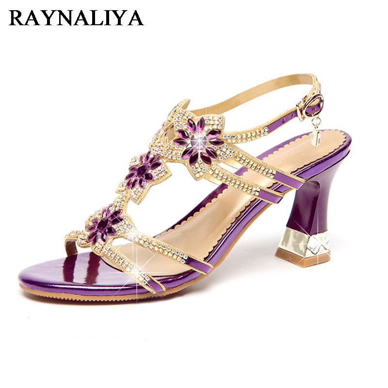 2018 Summer New Women For Shoes Elegant Crystal Luxury Bling Gold High Heels Sandals Fashion Party Shoes Ladies Shoes XMX-A0007 hena new stereo wireless bluetooth earphone ear hook headset not earbuds headphones hd call wireless earphone for phone with mic