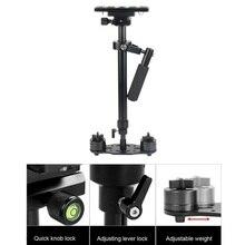 Ajustable 40 ~ 60 cm hegiht S60 Gradienter De Poche Stabilisateur Steadycam Steadicam pour Caméscope DSLR avec sac de transport