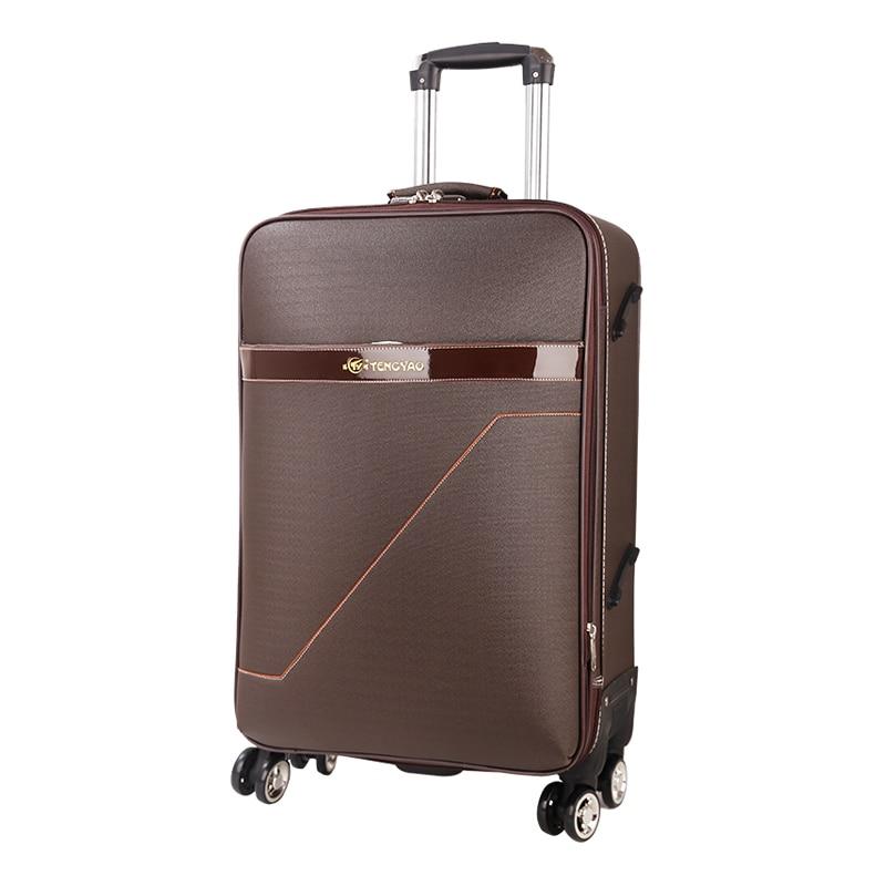 Diplomatisch Graspdream Reise Koffer Fall Vs Frauen Trolley Reisetaschen Spinner Räder Student Rosa Roll Gepäck Internat Reise Gepäck