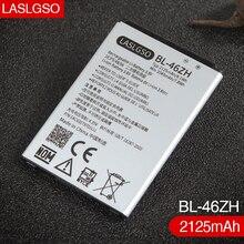 100% dobrej jakości BL 46ZH bateria do LG AS330 K332 K350N K371 K373 K7 K8 K89 LS675 LS675 M1 M1V MS330 US375 X210 2125 mAh
