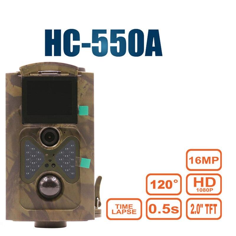 HC550A 16MP 1080 p HD macchina fotografica Della Fauna Selvatica foto-trappole caccia macchina fotografica della traccia Fantasma Cervi della Foresta wildcamera HC550A Laser hunter macchina fotografica