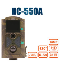 Hunting Trail Camera 16MP 1080P Wildlife Cameras Photo traps Forest Wildcamera HC550A Photo Video Trap Tracking Surveillance