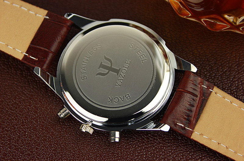 glass lowest item casual watch analog price leather luxury faux men new brand watches quartz blue ray fashion