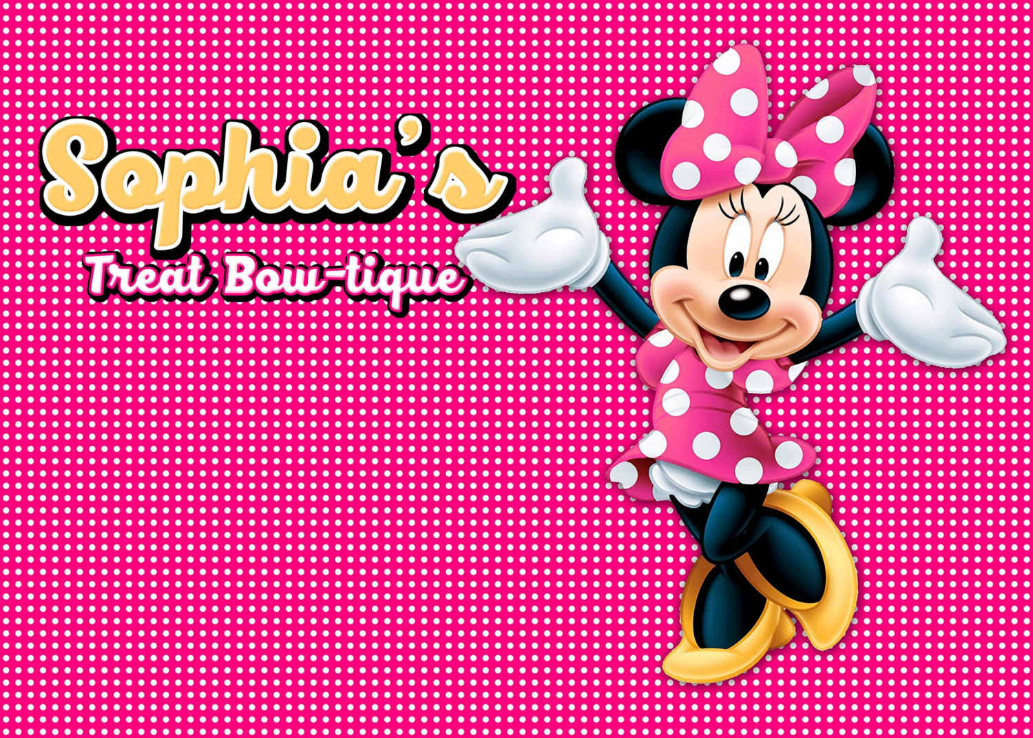 Detail Feedback Questions about custom minnie mouse pink