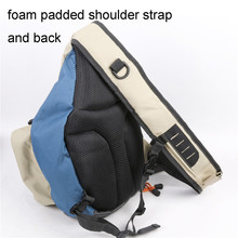 Maximumcatch Multi-Purpose Fly Fishing Sling Pack Bag Polyester Light Weight Outdoor Sport Fishing Bag with 3 Fishing Accessory