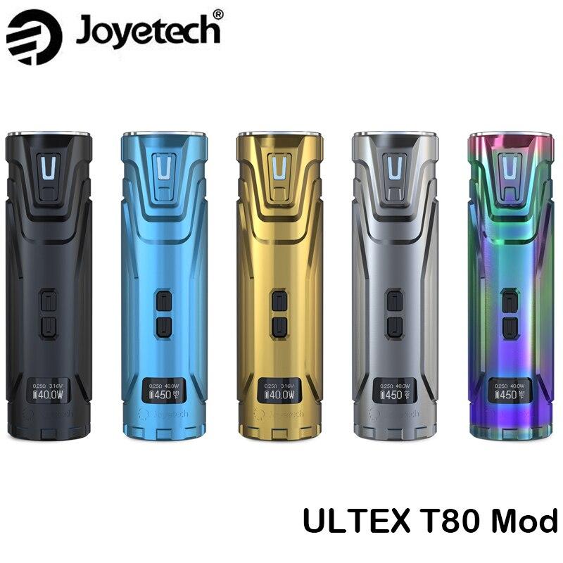 Boîte d'origine Joyetech ULTEX T80 MOD 80 W batterie ULTEX vapoteur CUBIS Max réservoir RDA/RTA Cigarette électronique