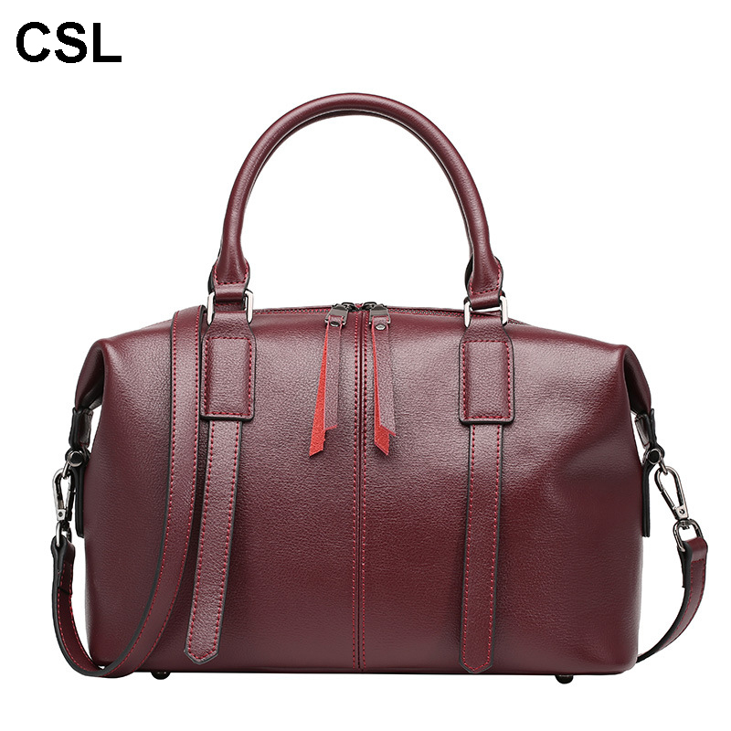New luxury handbags women bags designer Cowhide leather Fashion shoulder bag crossbody High capacity woman messenger bags 2017 new fashion luxury handbags women leather bags designer college students crossbody shoulder messenger bags small bag baobao