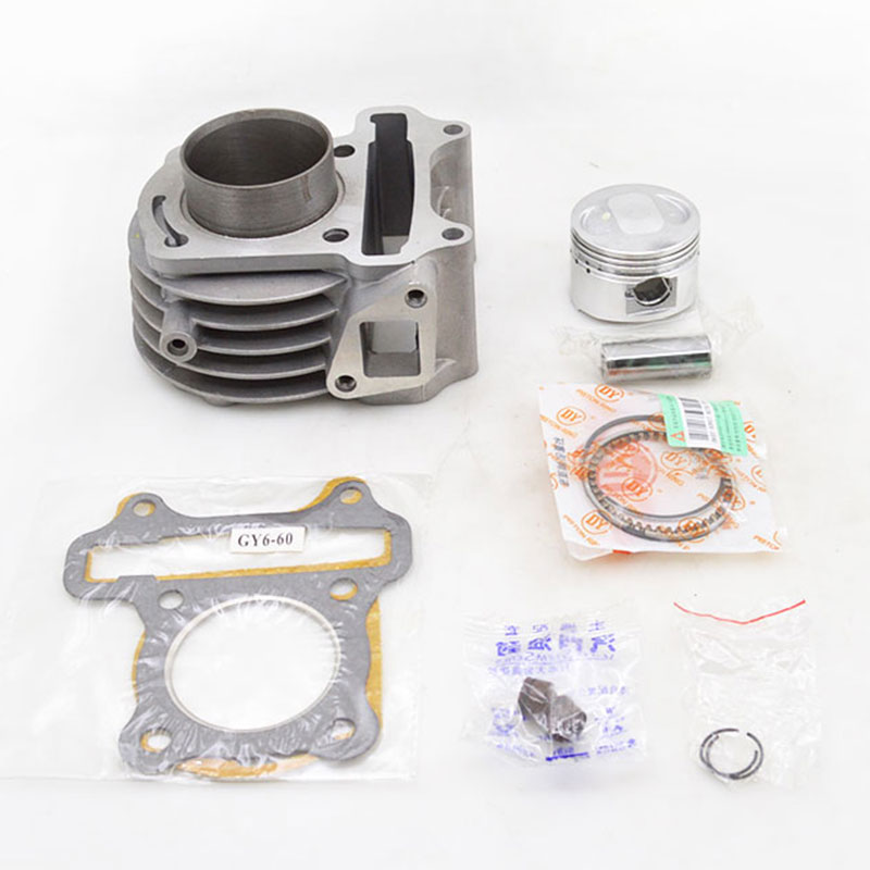 Motorcycle Cylinder Kit Set 44mm Bore For GY6-60 GY6 60 60cc Moped Scooter Dirt Bike TaoTao 139QMB 139QMA