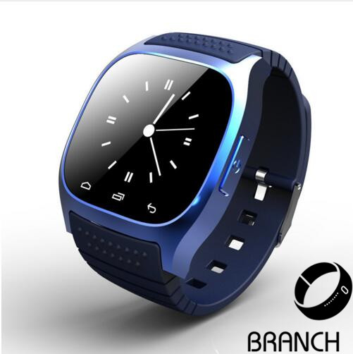 2016 NEW M26 Bluetooth Smart Watch luxury wristwatch R watch font b smartwatch b font with