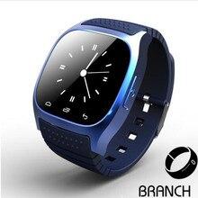2016 NEW M26 Bluetooth Smart Watch luxury wristwatch R watch smartwatch with Dial SMS Remind Pedometer