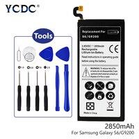 3,85 V 3030 3300 3800 мА/ч, Батарея для Samsung Galaxy S6/Edge/S7/S8/плюс G9 G9500 G9300 G928F G9250 G9200 с ящик для инструментов