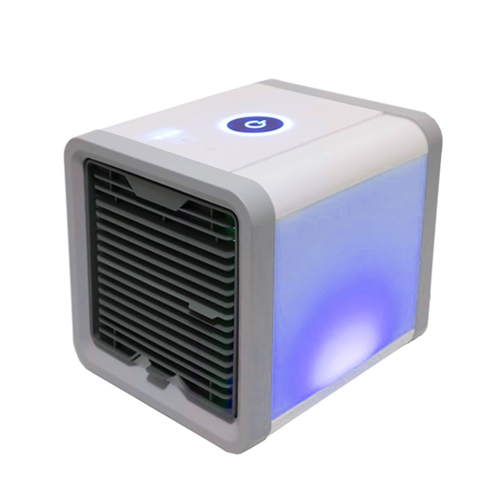 HTB1 Fqga.LrK1Rjy1zbq6AenFXad USB Mini Portable Air Conditioner Humidifier Purifier 7 Colors Light Desktop Air Cooling Fan Air Cooler Fan for Office Home