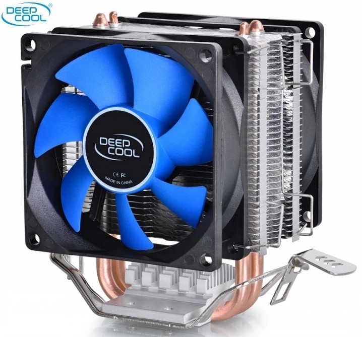 DeepCool For CPU Cooler 2 heatpipe for Intel LGA775/1155/1156/1150 for AMD FM1/FM2/AM3+/AM2+ CPU radiator CPU Fan ice mini