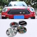 Металлический 3D передний гриль металлическая эмблема значок наклейка для стайлинга автомобиля для MINI Cooper JCW S One Countryman R60 R61 F55 F56 F60 аксессуары