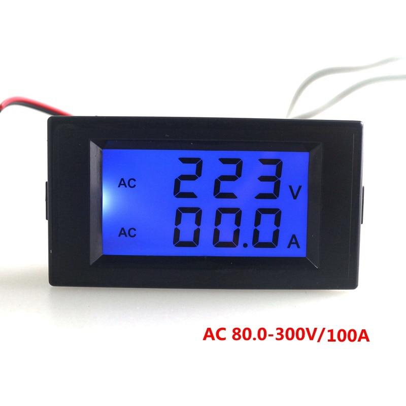 Digital Ampere Meter : Aliexpress buy digital voltmeter ammeter ac v
