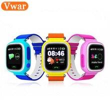 GPS Q90 сенсорный экран WiFi позиционирования Смарт-часы детей SOS вызова Расположение Finder устройства трекер Малыш Сейф анти потерянный монитор
