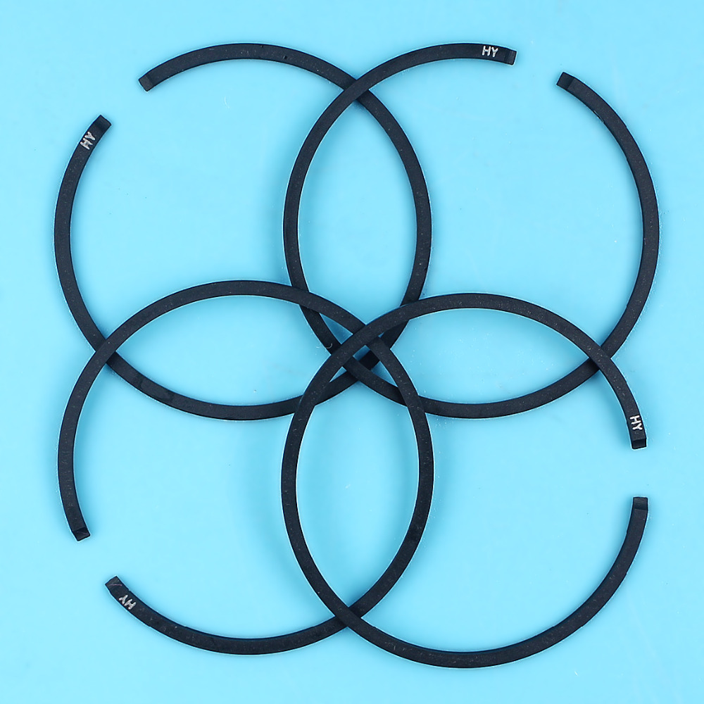 4Pc/lot 38mm Piston Ring Rings For STIHL MS180 018 MS 180 Chainsaw Replacement Spare Parts 1130 034 3002