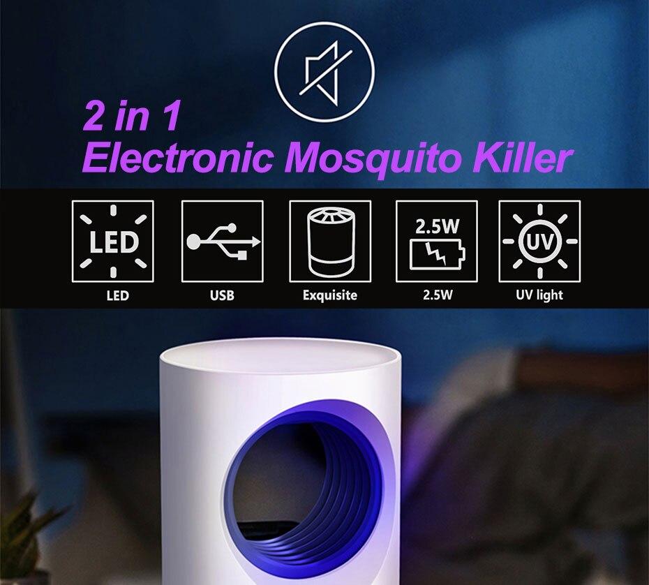 Lâmpadas p matar mosquito