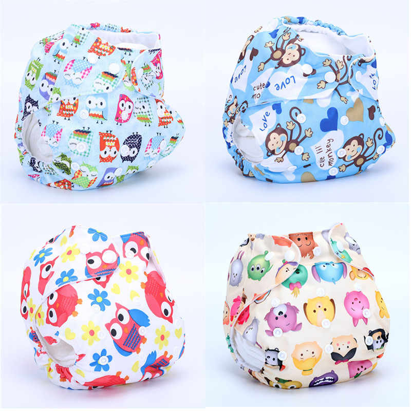 1PC One Size Waterproof Adjustable BabySwim Diaper Pool Pant 10-40lbs Baby Panties Reusable Pool Cover Swimming Trunk  Nappy