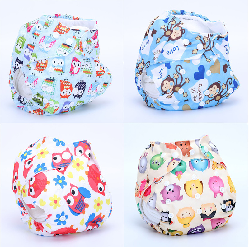 1PC One Size Waterproof Adjustable BabySwim Diaper Pool Pant 10-40lbs Baby Panties Reusable Cover Swimming Trunk  Nappy