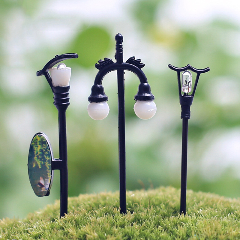 Craft Vintage DIY Miniature Lamp Creative 1PC Garden Home Decoration Mini Artificial Micro Landscaping