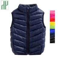 HH Baby Girl Vest Winter Spring Waistcoat Boy Kids Vests Warm Autumn Sleeveless Jacket Baby Outerwear