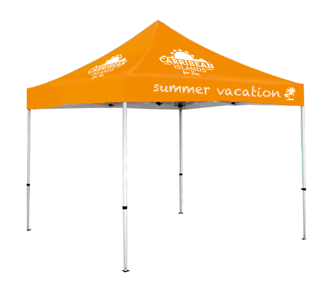 Decorative Easy Up Canopy Tent 3x3m CanopyDye Sublimation Printing TentFrame