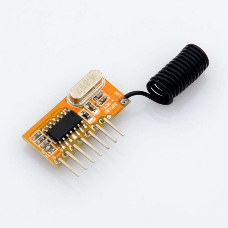 ASK Super-heterodyne rf transmitter and receiver module 315mhz/433.92mhz data transmitte ...
