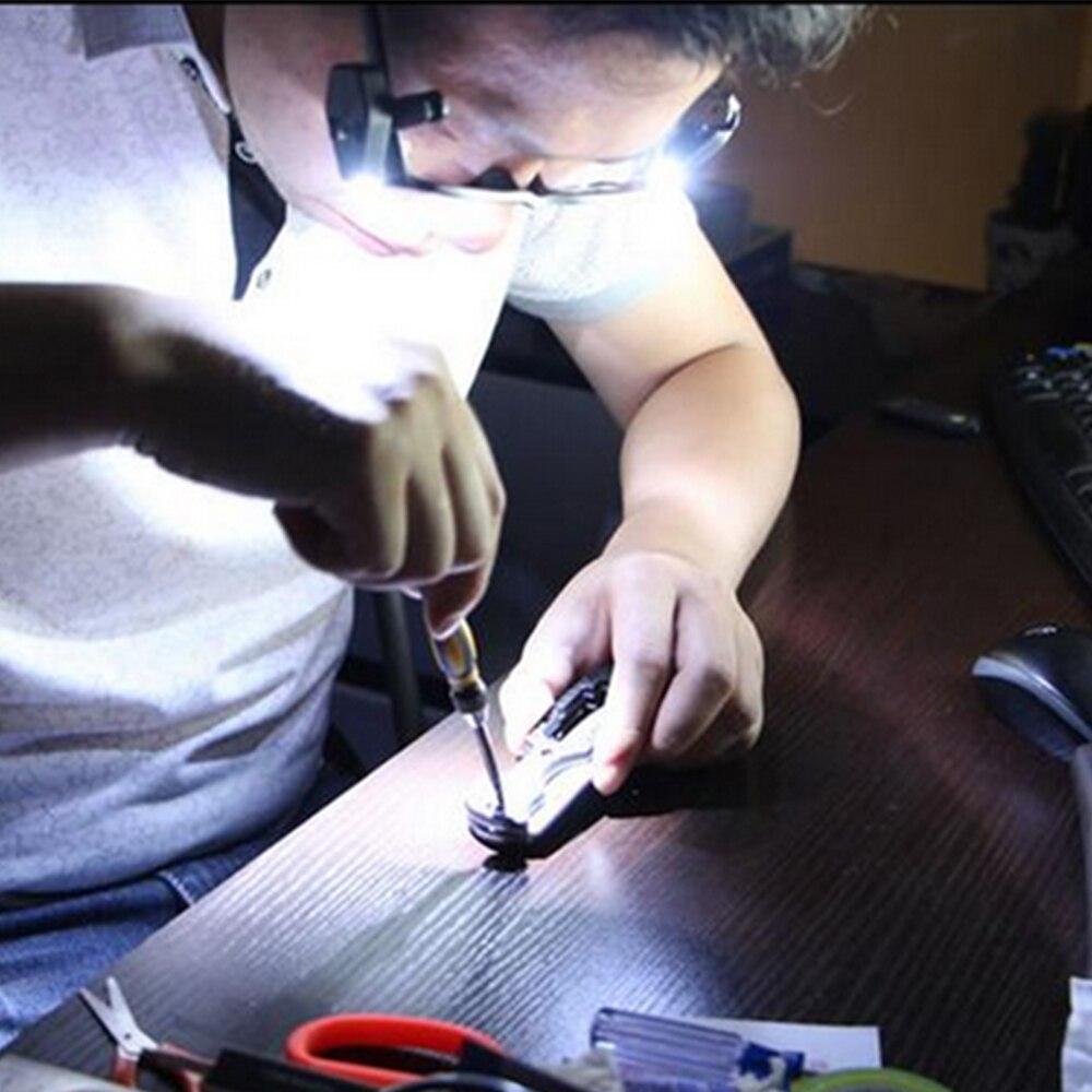 Livro Luzes livro flexível levou clipe no Características : Can be Clipped on The Glasses