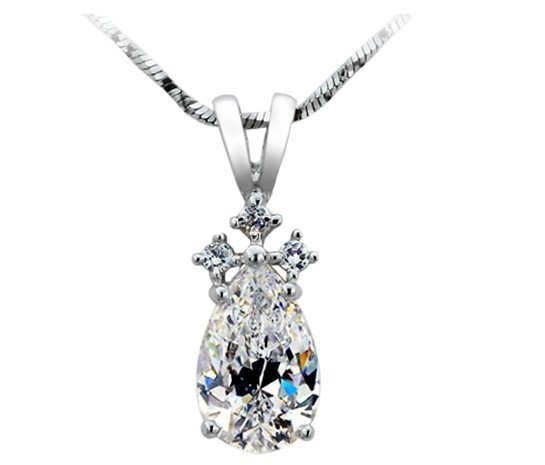 2 CARAT New Fantastic Vintage Antique SONA Synthetic Diamonds Pendant  Necklace Best Quality Women Engagement Wedding Jewelry-in Pendants from  Jewelry ... d79c7194b7