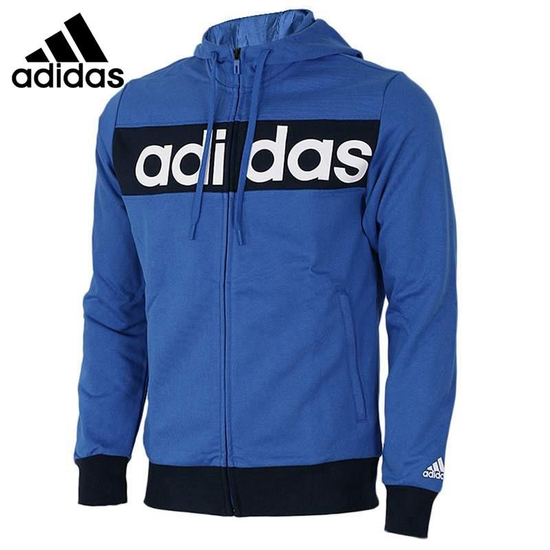 Original New Arrival Adidas JKT KN HD LIN Men's jacket Hooded Sportswear original new arrival 2017 adidas wb lin lightwgt men s jacket hooded sportswear