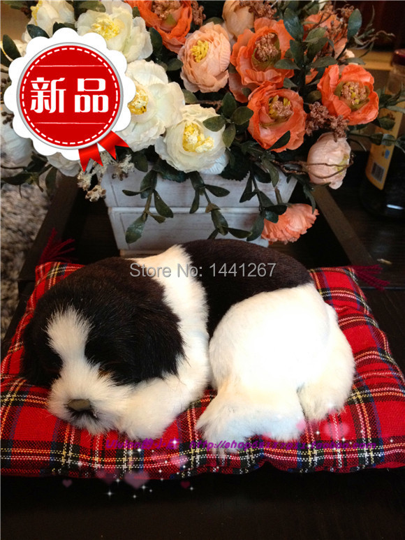 Simulation Sleeping Dogs New Year gift Germany edge animal husbandry dog children s font b toys