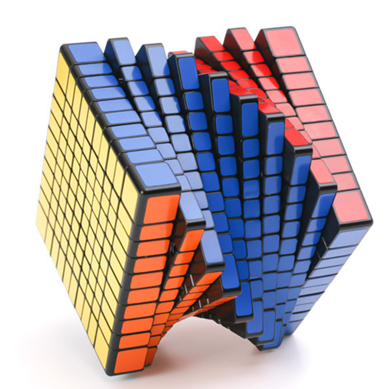 Shengshou 10x10x10 cube cube magique puzzle 10 Couches 10x10 cube magique cubo cadeau jouets jouets éducatifs Drop Shipping
