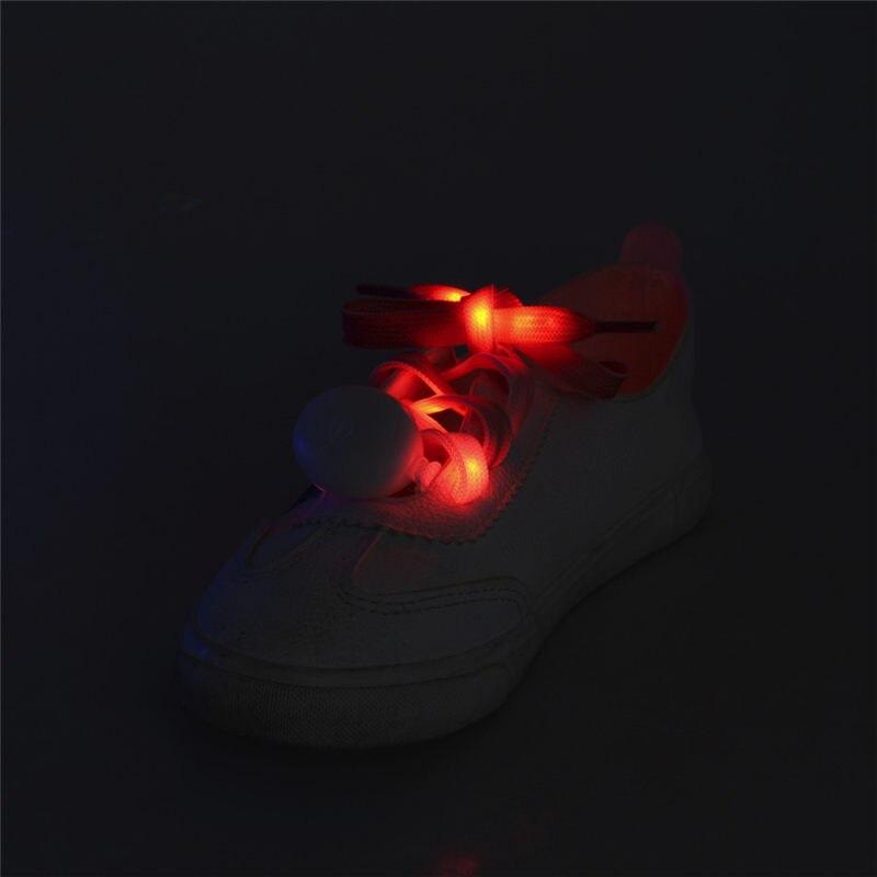 Initiative Fashion Led Shiny Shoelace Rainbow Fashion 4 Seasons Ins Style Night Run Party 120cm Shoelaces 40ma19 Shoes Shoelaces