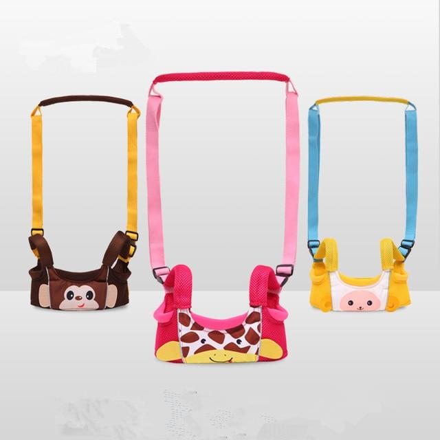 New Brand Anti-lost Baby Infant Walking Backpack Belt Harnais Enfant Kid Toddler Walking Learning Leash Assistant Harness Strap
