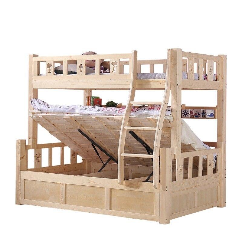 цена на Matrimonio Mobilya Letto Mobili Meble Set Kids Single Room Modern Cama Mueble De Dormitorio bedroom Furniture Double Bunk Bed